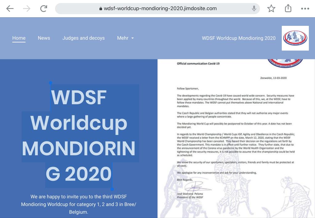 Mondioring 2020